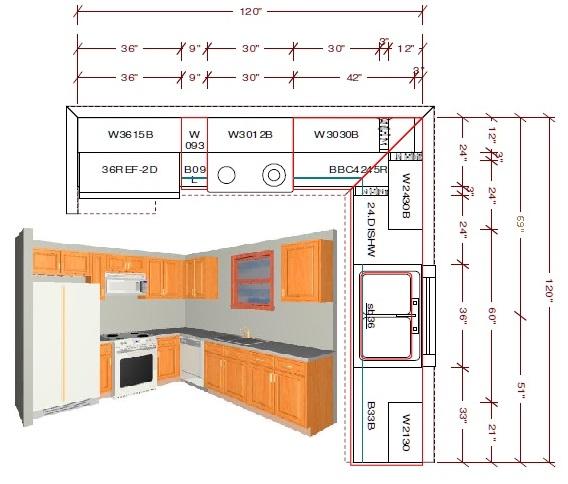 10x10 kitchen layout