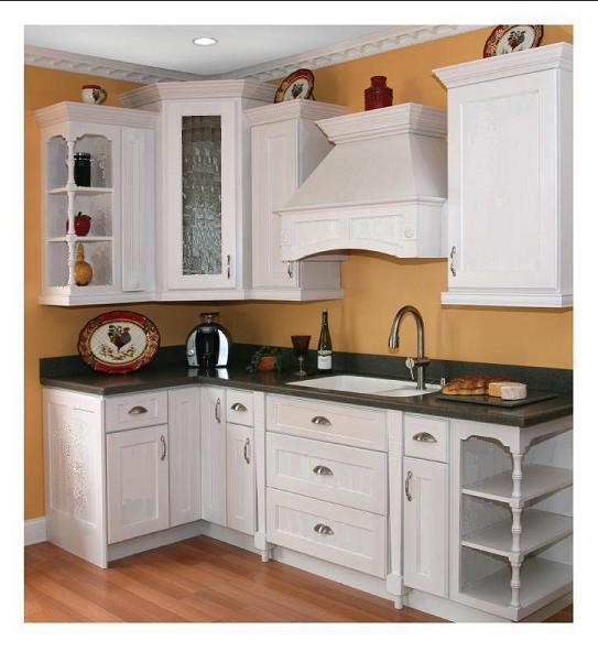 White shaker kitchen cabinets 10x10 birch and ply rtas for Kitchen cabinets 10x10