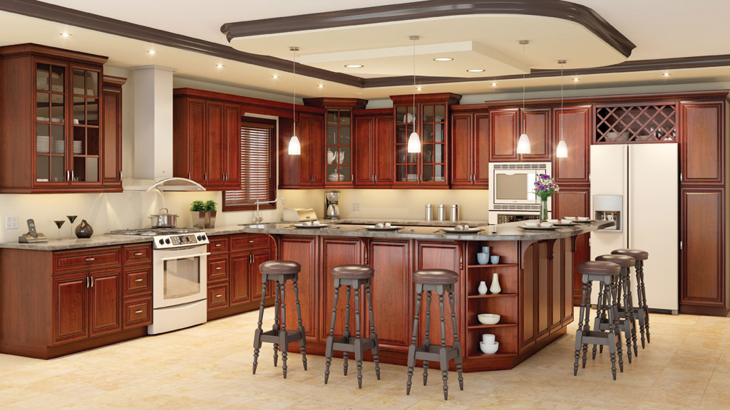 All wood rta kitchen cabinets birch ply forevermark sienna for All wood kitchen cabinets