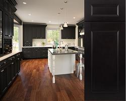 flat panel black cabinet