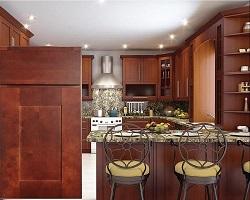 Sanibel Maple Kitchen Cabinets
