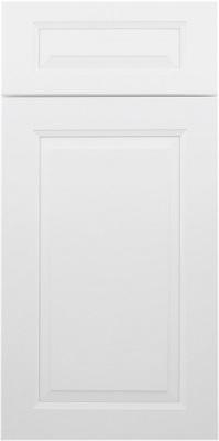 RaisedPanelWhite cabinet door