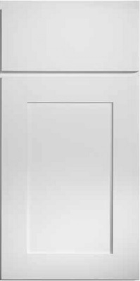 DESIGNER WHITE cabinet door