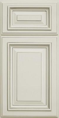 Cream cabinet door