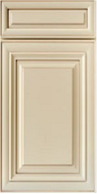 Alpine cabinet door