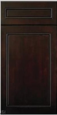 Ebony cabinet door
