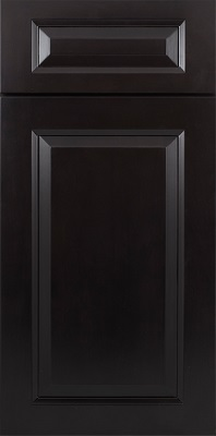 RaisedPanelMidnight cabinet door