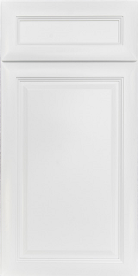 Valley White cabinet door