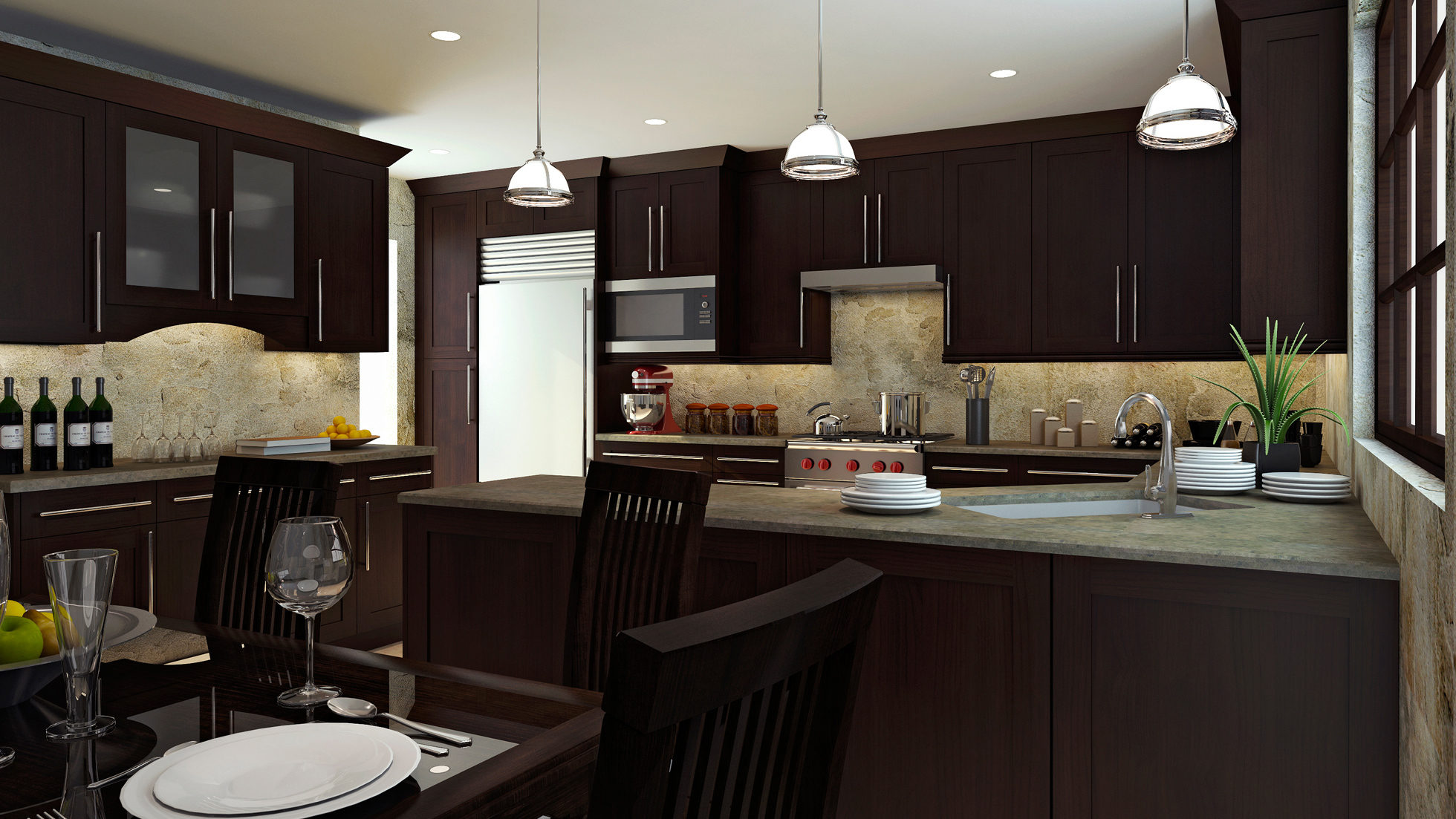 Charmant Madison Kitchen Cabinetry