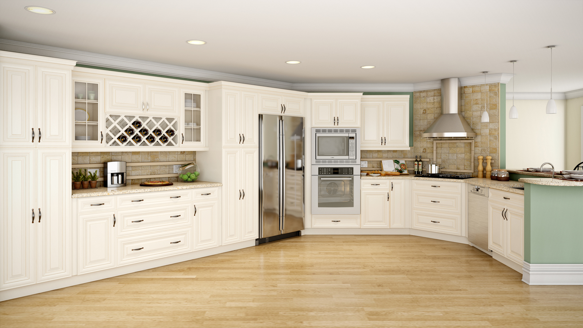 The Rockport Cabinetry Line by Adornus - RTA Kitchen Cabinets