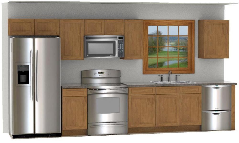 english oak cyof country kitchen cabinet set - Eo Kitchen
