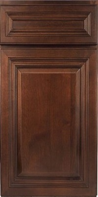 dark caramel cabinet door