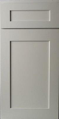 grey shaker cabinet door