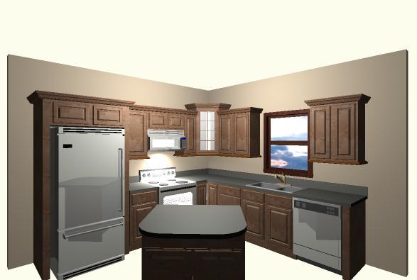 10x10Luxury Kitchen Level